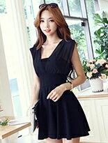 韓版性感氣質雪紡洋裝-女裝,內衣,睡衣,女鞋,洋裝