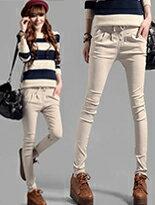 藍色巴黎排釦口袋長褲-女裝,內衣,睡衣,女鞋,洋裝