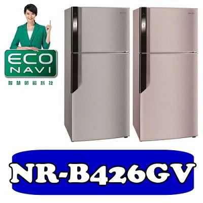 國際牌 ECONAVI雙門變頻冰箱