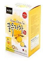 【77美妝】韓國綠茶園 蜂蜜柚子茶隨身包【6入/盒】