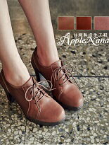 【AppleNana】法式率性風範經典真皮氣墊踝靴