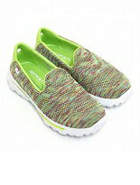 【Dalashop 達拉小舖】春氛活力亮彩織法休閒平底超輕超軟健走鞋