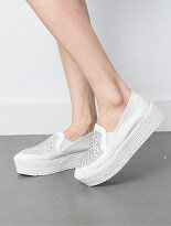 【kirakira】唯美閃耀水鑽厚底懶人鞋