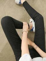 【BOBO小中大尺碼】寬版中腰鬆緊窄管褲↘$279