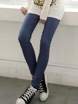 【嘉蒂斯】韓版心機款超彈性激瘦窄管褲↘$99