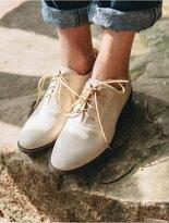 綁帶造型低跟牛津鞋-女裝,內衣,睡衣,女鞋,洋裝