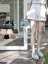P單釦反摺西裝短褲-女裝,內衣,睡衣,女鞋,洋裝