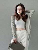 V領雙口袋針織外套-女裝,內衣,睡衣,女鞋,洋裝