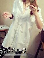寬鬆口袋長袖白襯衫-女裝,內衣,睡衣,女鞋,洋裝