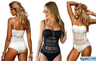 歐美款簍空性感泳衣-女裝,內衣,睡衣,女鞋,洋裝