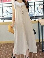 休閒大版兩穿式連身裙-女裝,內衣,睡衣,女鞋,洋裝
