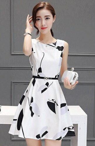 新款顯瘦高腰連身洋裝-女裝,內衣,睡衣,女鞋,洋裝