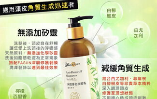 《FASUN 琺頌》角質淨化洗髮乳‧複方草本-化妝品,保養品,彩妝,專櫃,開架
