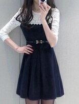 甜美公主長袖洋裝-女裝,內衣,睡衣,女鞋,洋裝