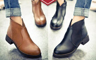 時尚簡約馬丁短靴-女裝,內衣,睡衣,女鞋,洋裝