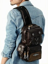 軍裝風 單肩背包