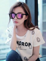 MIT台灣製。經典方框反光水銀太陽眼鏡