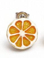 日本Palnart poc 新鮮剖面水果派對耳環組