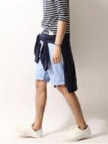T/C斜紋織短褲 ZIP FIVE 日本ZIP男裝