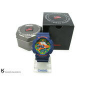 CASIO G-SHOCK GA-110FC-2ADR 深藍橘 橘綠黃錶面 霧面錶帶 藍樂高