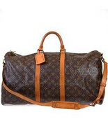 LV  手提旅行袋附背袋