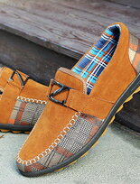 流嚴選麂皮耐穿車線帆船鞋