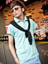 首爾街頭Colorful糖果色短袖上衣