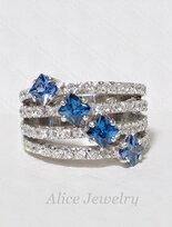 Alice Jewelry法國銀戒 米蘭風