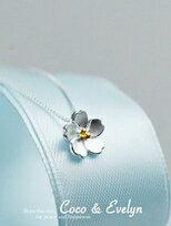 925純銀櫻花項鍊