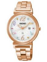 Seiko Lukia 20週年幸福女人太陽能腕錶
