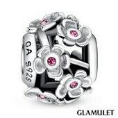 Glamulet格魅麗925純銀鏤空花朵