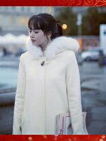 正韓版☆首爾冬季戀曲‧暖呼呼雪季長大衣☆