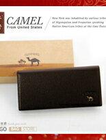 CAMEL卡梅爾-駱駝真皮 男用長夾