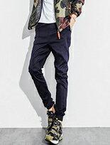 束口褲 Jogger極簡風格簡約素面縮口褲