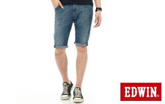 EDWIN JERSEYS迦績側剪接牛仔短褲-潮流男裝,潮牌,外套,牛仔褲,運動鞋