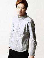 牛津釦領襯衫 短版-潮流男裝,潮牌,外套,牛仔褲,運動鞋