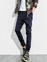 風格簡約素面縮口褲-潮流男裝,潮牌,外套,牛仔褲,運動鞋
