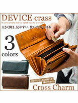 CrossCharm DEVICE復古長夾