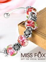 熱戀心花 嬌豔手環-精品,包包,行李箱,配件,名牌