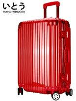鏡面鋁框硬殼行李箱-精品,包包,行李箱,配件,名牌