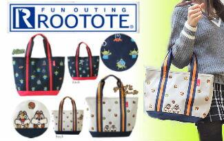 ROOTOTE x 迪士尼2WAY媽媽包-精品,包包,行李箱,配件,名牌