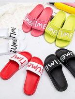 字母防水防滑海灘拖-女裝,內衣,睡衣,女鞋,洋裝