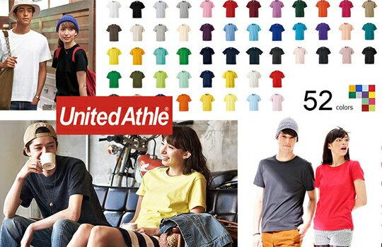 正品授權經銷 日牌 United Athle 情侶款 美國棉 素面圓領短袖上衣T恤 5.6oz 中磅-女裝,內衣,睡衣,女鞋,洋裝