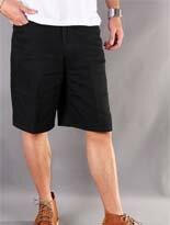 素面黑色彈力工作短褲-女裝,內衣,睡衣,女鞋,洋裝