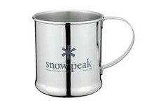 Snow peak不鏽鋼單層杯-運動器材,運動外套,籃球鞋,腳踏車,露營
