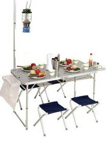 PINUS 鋁合金折疊桌椅-運動器材,運動外套,籃球鞋,腳踏車,露營