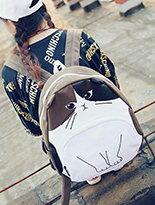 韓版趣味貓咪後背包-精品,包包,行李箱,配件,名牌