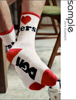 韓國製愛心中筒襪-女裝,內衣,睡衣,女鞋,洋裝