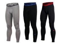 NIKE 男彈力緊身長褲-運動器材,運動外套,籃球鞋,腳踏車,露營