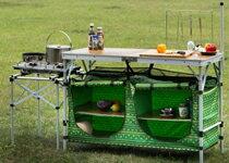 KAZMI 輕便型行動廚房-運動器材,運動外套,籃球鞋,腳踏車,露營